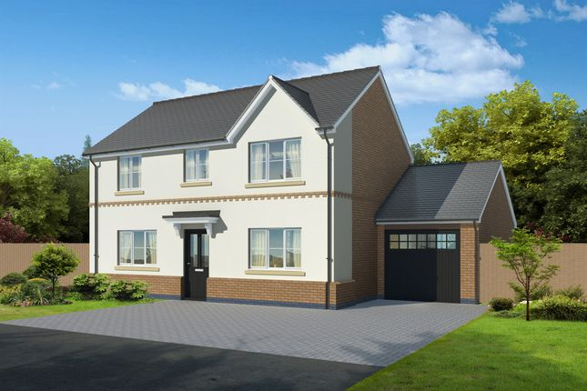 Thumbnail Detached house for sale in Weaver Green, Melton Mowbray