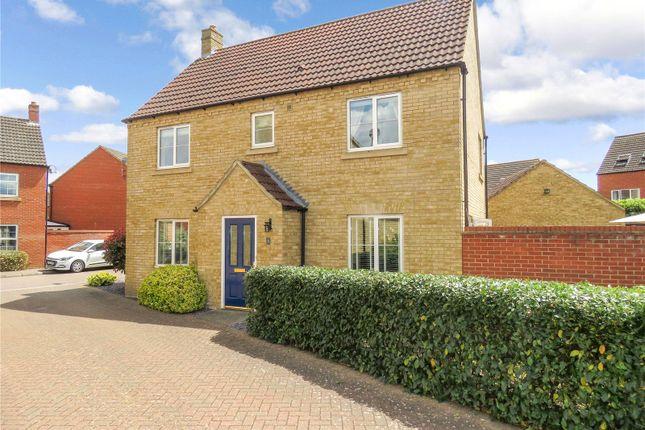 Detached house for sale in Malden Way, Eynesbury, St. Neots, Cambridgeshire