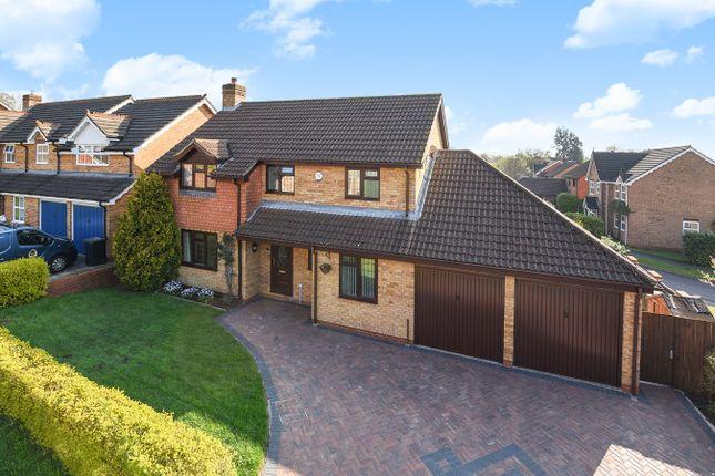 Thumbnail Detached house for sale in Belvedere Gardens, Chineham, Basingstoke