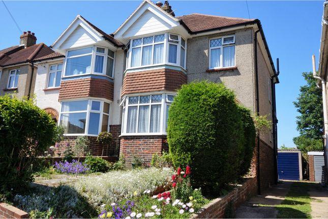 Thumbnail Semi-detached house for sale in Burlington Gardens, Brighton