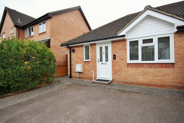 Thumbnail Semi-detached bungalow for sale in Bignell Croft, Highwoods, Colchester