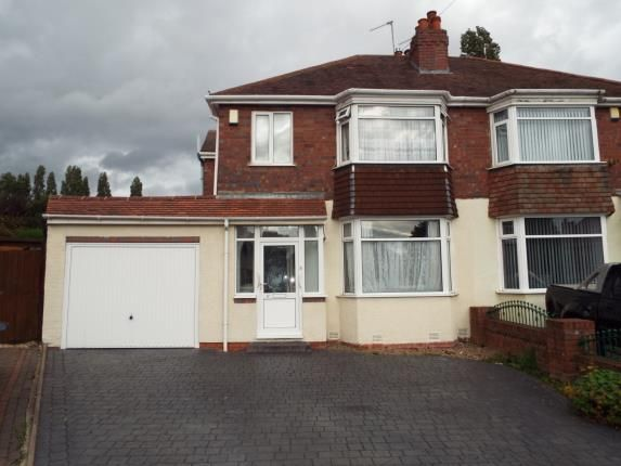 Thumbnail Semi-detached house for sale in Epwell Grove, Kingstanding, Birmingham, West Midlands