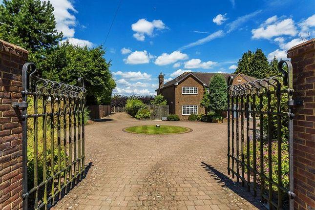 Gated Entrance of Babylon Lane, Lower Kingswood, Tadworth, Surrey KT20