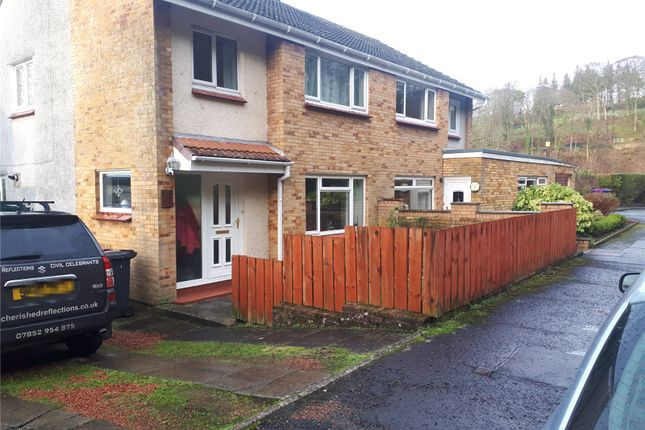 Thumbnail Semi-detached house for sale in Stakehill, Largs