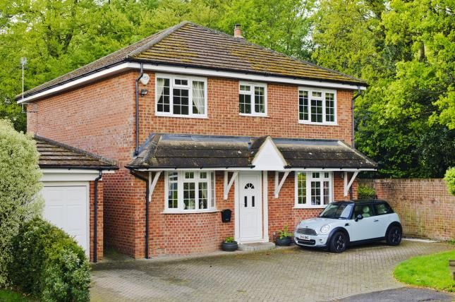 Thumbnail Detached house for sale in Windlesham, Surrey, United Kingdom