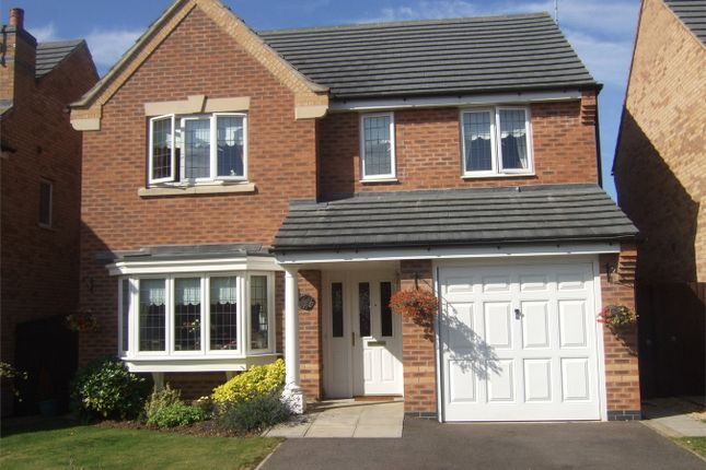 Thumbnail Detached house to rent in Tarragon Way, Bourne, Lincolnshire