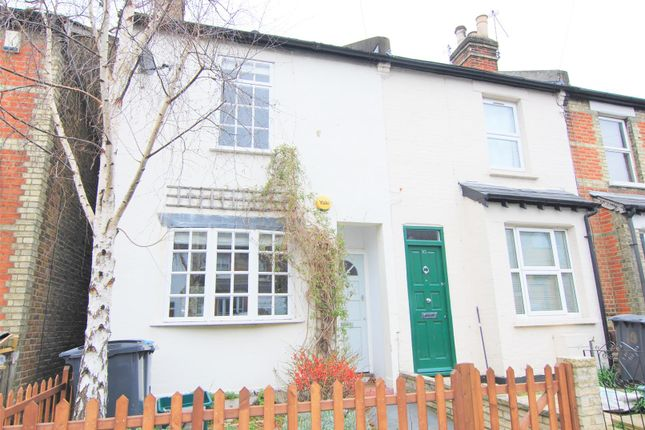 Thumbnail 2 bed end terrace house to rent in Cross Road, Kingston Upon Thames