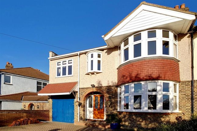 Thumbnail Semi-detached house for sale in Beverley Road, Worcester Park