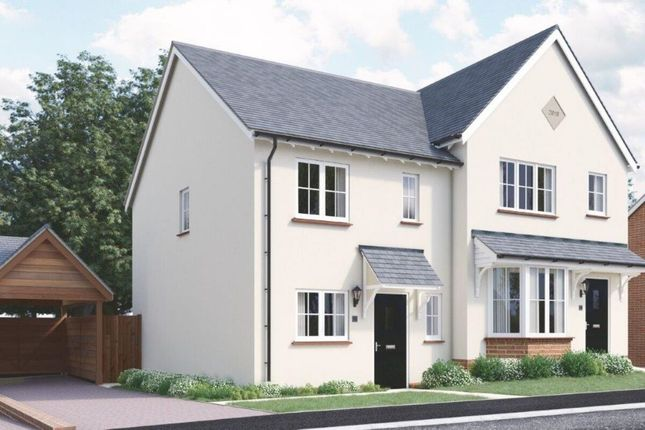 Thumbnail Semi-detached house for sale in The Grange High Street, Tetsworth, Thame