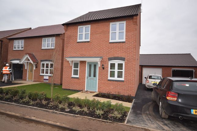 Thumbnail Detached house to rent in Cascade Close, Burton-On-Trent