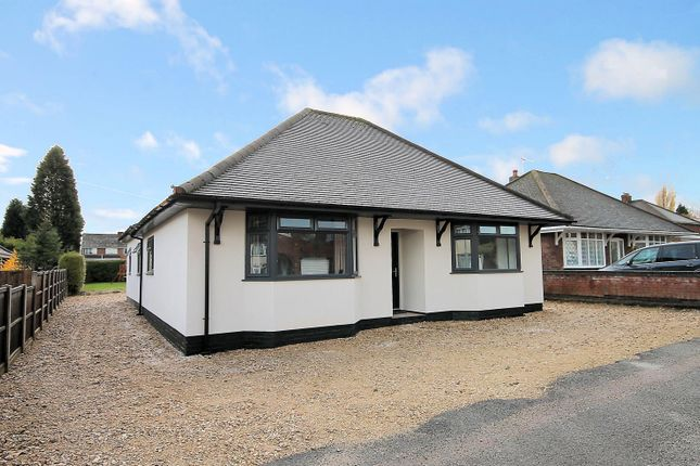 Thumbnail Detached bungalow for sale in Draycott Crescent, Tamworth