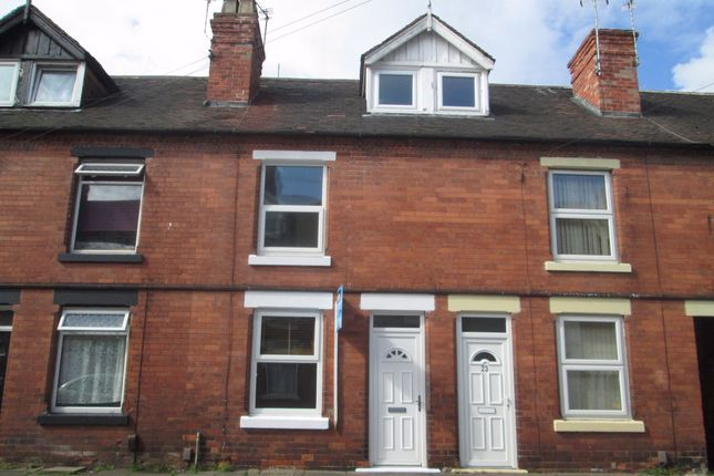 Thumbnail Terraced house to rent in York Street, Sutton In Ashfield, Nottinghamshire