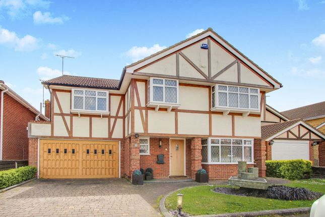 Thumbnail Detached house for sale in Martingale, Thundersley, Essex