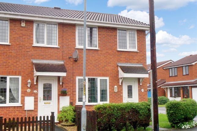 Thumbnail End terrace house to rent in Evesham Road, Redditch