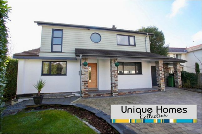 Thumbnail Detached house for sale in School Lane, Tregrehan Mills, St Austell, Cornwall