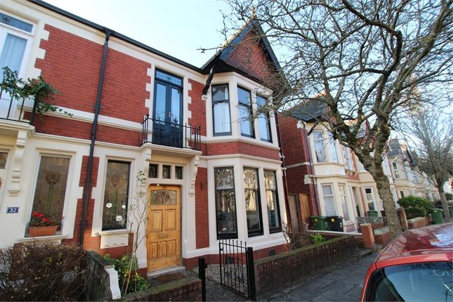 Thumbnail End terrace house for sale in Amesbury Road, Penylan, Cardiff