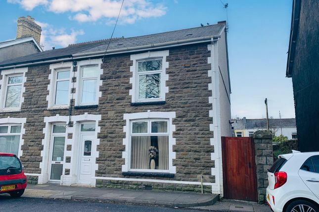 Thumbnail Semi-detached house for sale in Coopers Terrace, Ystrad Mynach, Hengoed