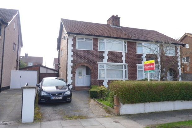 Thumbnail Semi-detached house to rent in Heyville Road, Bebington, Wirral