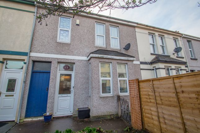 Thumbnail Terraced house for sale in St. Georges Avenue, Plymouth
