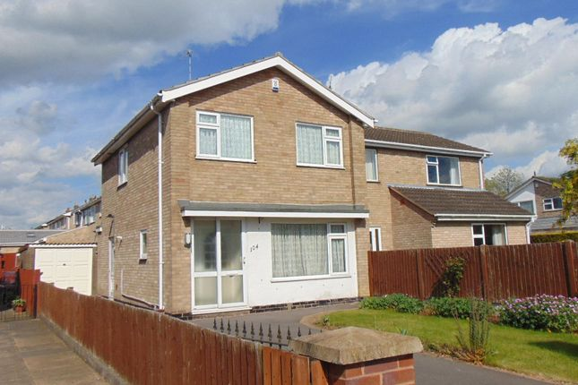 Thumbnail Link-detached house to rent in Coombe Rise, Oadby, Leicester