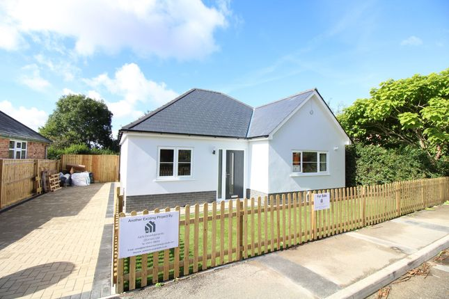 Thumbnail Detached bungalow for sale in Glebe Road, Lytchett Matravers, Poole