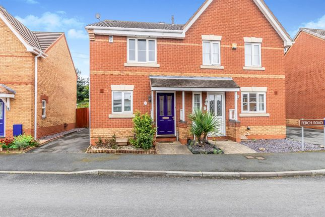 Thumbnail Semi-detached house for sale in Perch Road, Walsall