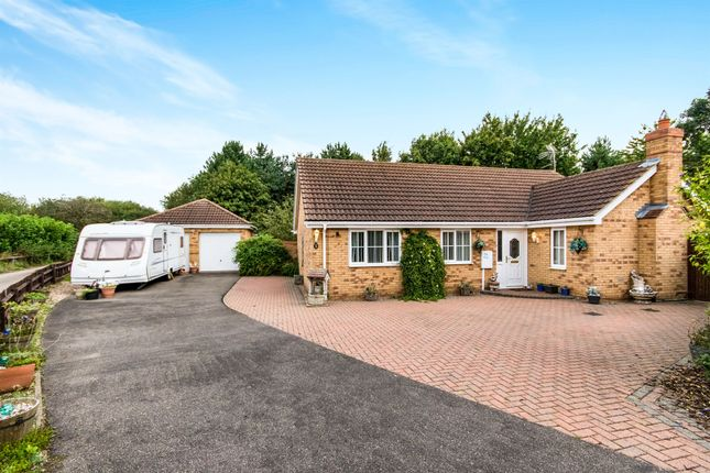 Thumbnail Detached bungalow for sale in Mercia Drive, Ancaster, Grantham