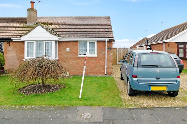 Thumbnail Semi-detached bungalow for sale in Elmwood Drive, Ingoldmells, Skegness