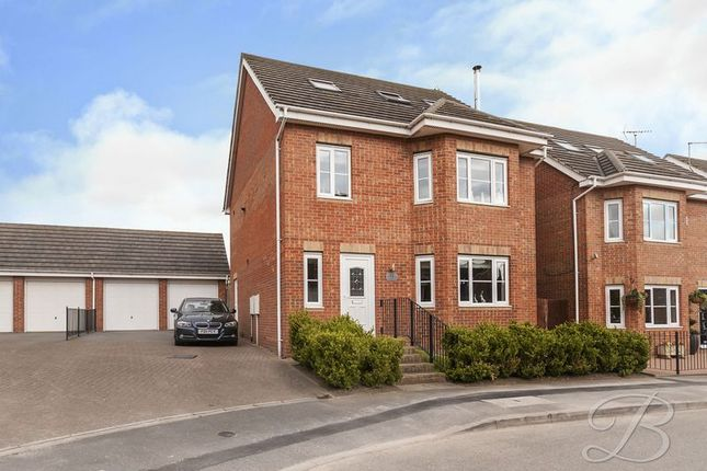Thumbnail Detached house for sale in Waterfield Way, Clipstone Village, Mansfield
