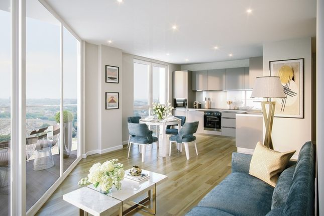 Thumbnail Flat for sale in Brook House, Brixton Centric