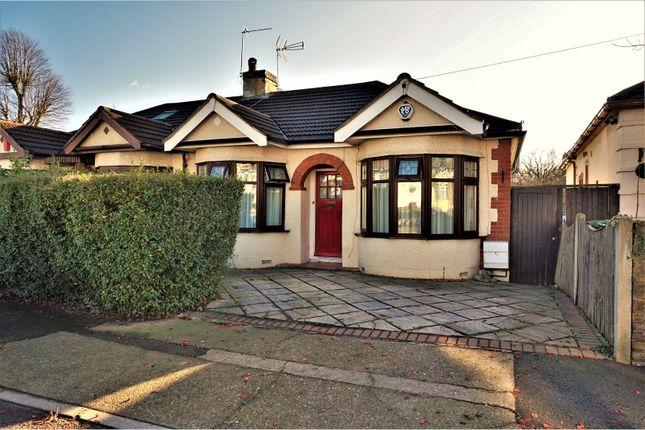 Thumbnail Semi-detached bungalow for sale in Ingreway, Romford