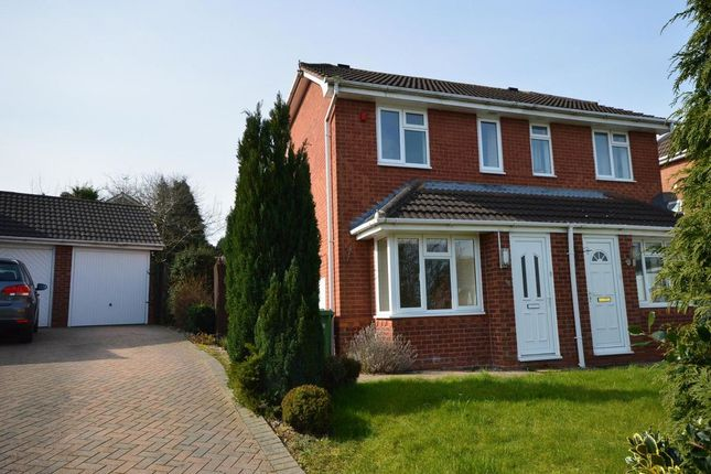 Thumbnail Semi-detached house to rent in Mulberry Tree Hill, Droitwich