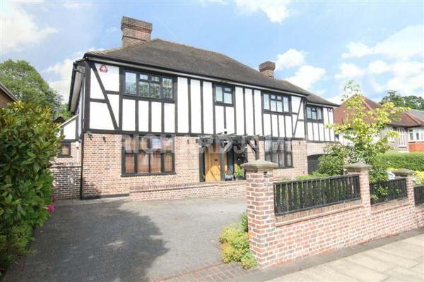Thumbnail Detached house for sale in Holmdene Avenue, London