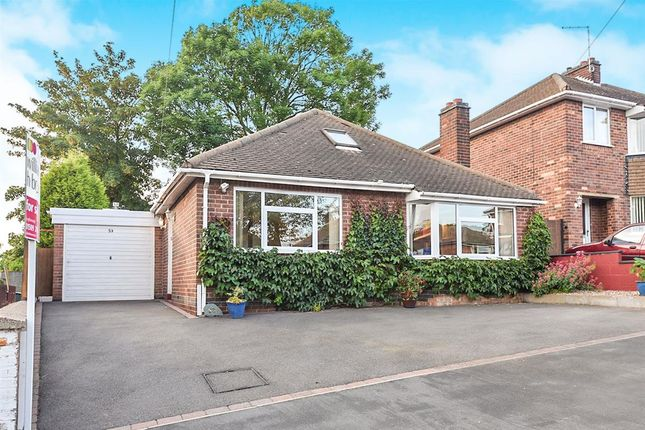 Thumbnail Detached bungalow for sale in St Bernards Road, Whitwick, Coalville