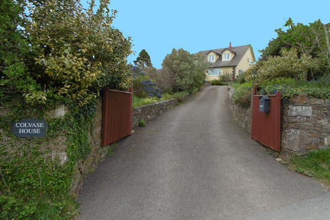 Thumbnail 5 bed property for sale in Widegates, Looe