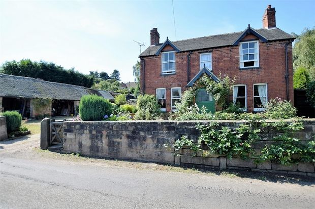 Thumbnail Detached house for sale in Church Street, Holbrook, Belper, Derbyshire