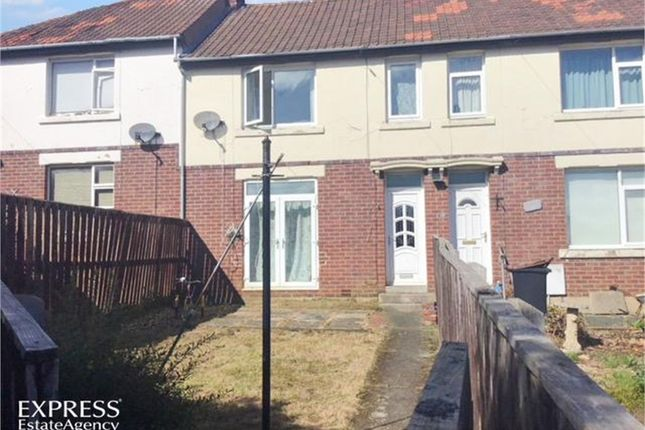 Thumbnail Terraced house for sale in The Crescent, Chester Moor, Chester Le Street, Durham