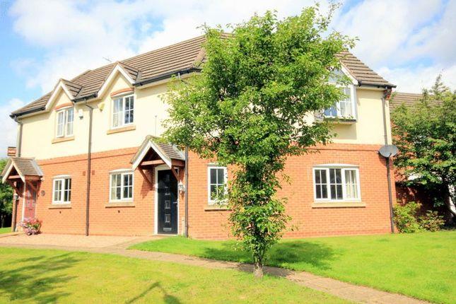 Thumbnail Semi-detached house for sale in Millbrook Gardens, Blythe Bridge, Stoke-On-Trent