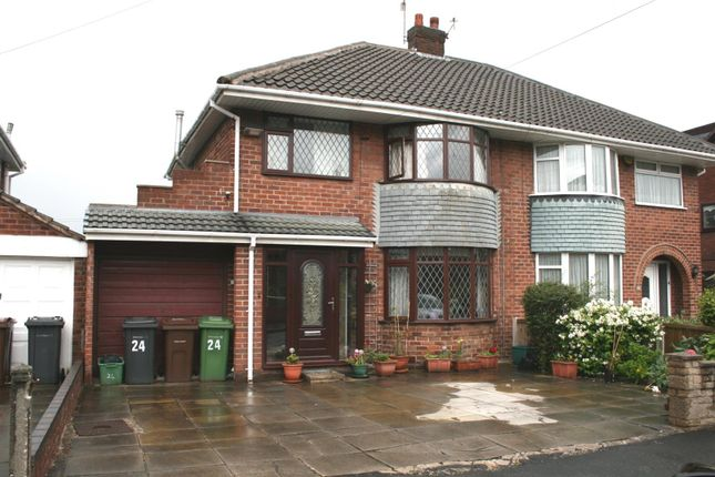 Thumbnail Semi-detached house for sale in Canterbury Close, Aintree, Liverpool