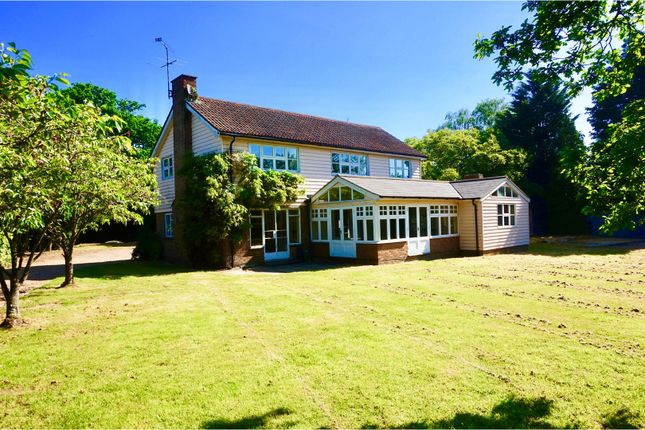 Thumbnail Detached house for sale in Mole Hill Green, Dunmow