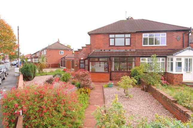 Thumbnail Semi-detached house for sale in Anson Road, Denton, Manchester