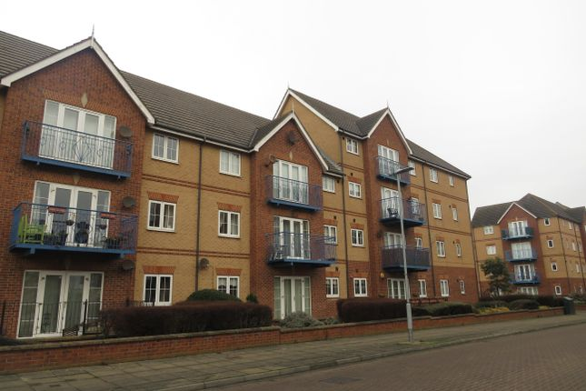 Thumbnail Flat to rent in Admiral Way, Hartlepool