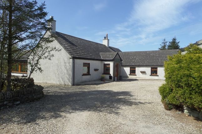 Thumbnail Detached bungalow for sale in Clayock, Halkirk