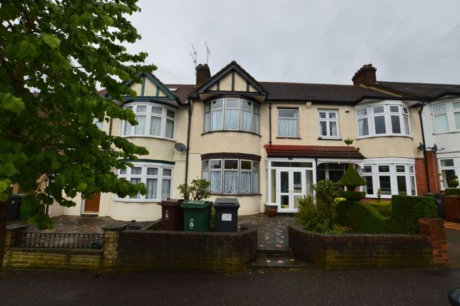 Thumbnail Terraced house to rent in Normanshire Drive, Chingford