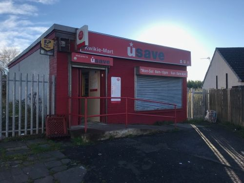 Thumbnail Retail premises for sale in Larkhall, Lanarkshire