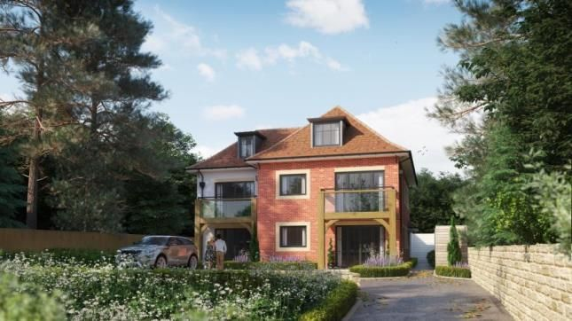 Thumbnail Flat for sale in Queens Park Avenue, Bournemouth