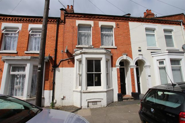Thumbnail 3 bed terraced house to rent in Whitworth Road, Abington, Northampton