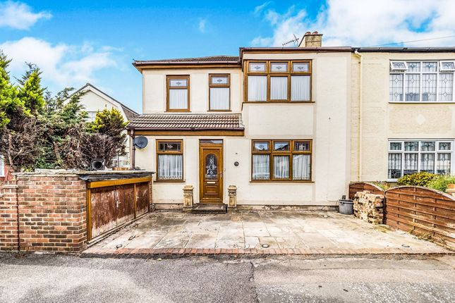 Thumbnail End terrace house for sale in Blacksmiths Lane, Rainham