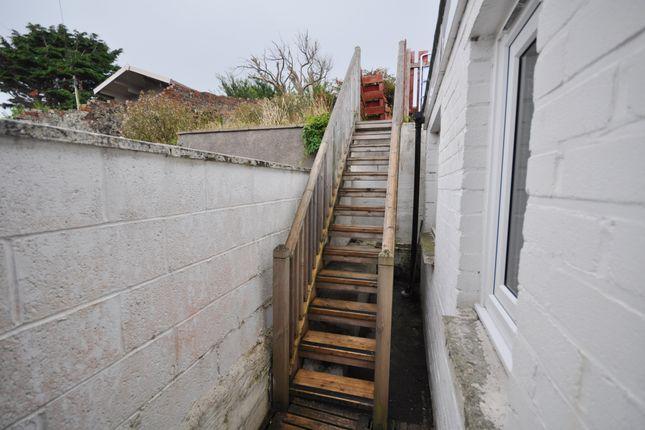 Stairs To Garden of 29 Glendoune Street, Girvan KA26