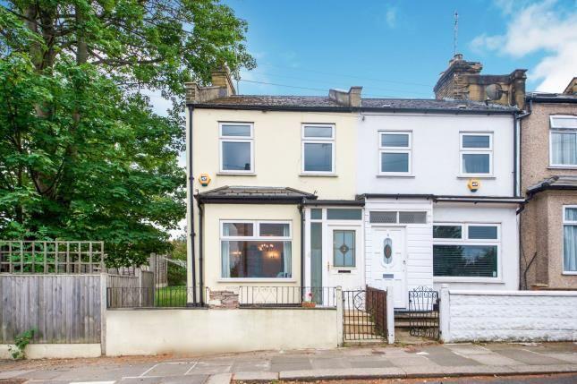 End terrace house in  Brunswick Crescent  Arnos Grove  London  .  Watford